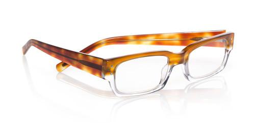 EyeBobs Designer Reading Glasses Peckerhead 2275 21 Light Tortoise Fade