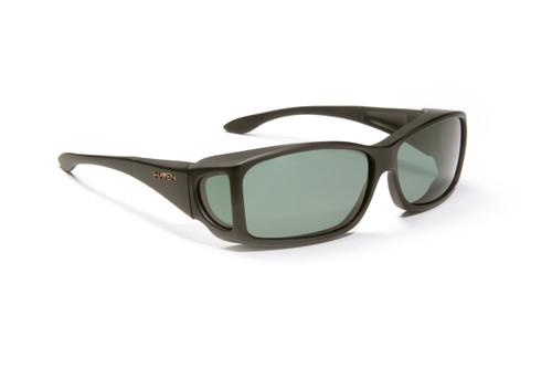 Haven Designer Fitover Sunglasses Windemere in Black & Polarized Grey Lens (MEDIUM/LARGE)
