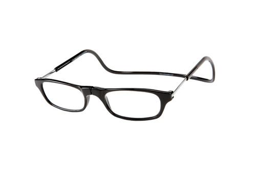 Clic Magnetic Eyewear Long Fit Original Style in Black :: Custom Left & Right Lens