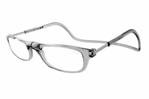 Clic Magnetic Eyewear Long Fit Original Style in Smoke :: Custom Left & Right Lens