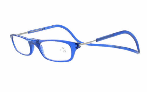 Clic Magnetic Eyewear Regular Fit Original Style in Blue :: Custom Left & Right Lens