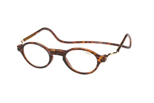 Clic Magnetic Eyewear Regular Fit Classic Style in Tortoise :: Custom Left & Right Lens