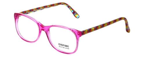 Eyefunc Designer Eyeglasses 8072-36 in Pink & Multi 49mm :: Rx Bi-Focal