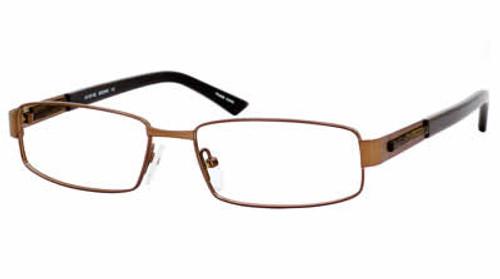 Dale Earnhardt, Jr. Eyeglass Collection 6702 in Satin Brown :: Custom Left & Right Lens