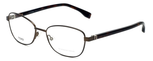 Fendi Designer Eyeglasses FF0012-7SR in Matte Brown Havana 53mm :: Rx Single Vision