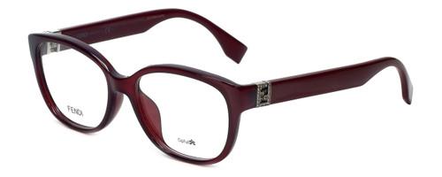 Fendi Designer Eyeglasses FF0068F-MKG in Burgundy 52mm :: Rx Bi-Focal