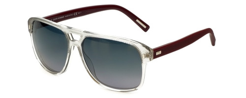 Christian Dior Designer Sunglasses Black-Tie-TAG in Grey-Red 58mm