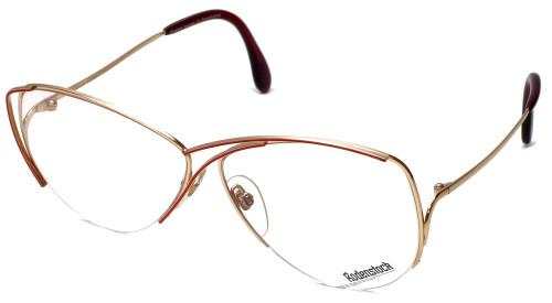 Rodenstock Designer Eyeglasses 828 in Gold/Red 59mm :: Progressive