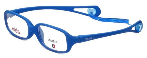Cruiser Kids Designer Eyeglasses 2889 in Matte-Blue 43mm :: Progressive