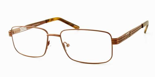 Dale Earnhardt, Jr. Eyeglass Collection 6765 in Brown :: Custom Left & Right Lens