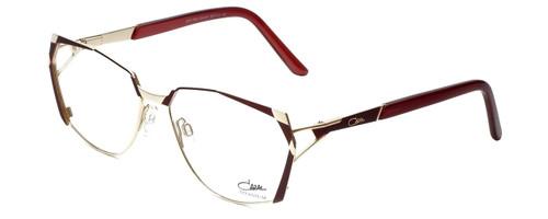 Cazal Designer Eyeglasses 1099-001 in Gold-Red 56mm :: Custom Left & Right Lens