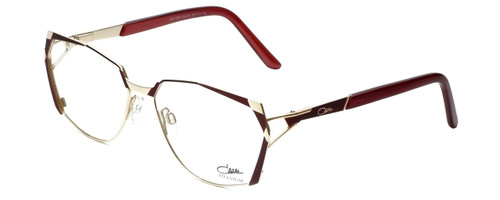 Cazal Designer Eyeglasses 1099-001 in Gold-Red 56mm :: Rx Single Vision