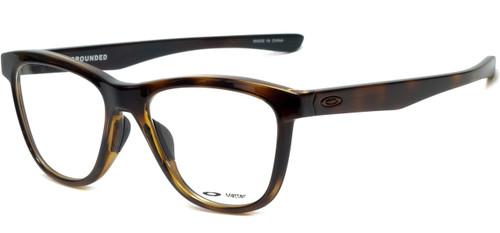 Oakley Designer Eyeglasses Grounded OX8070-0253 in Polished Tortoise 53mm :: Custom Left & Right Lens