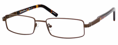 Eddie Bauer Designer Eyeglasses 8224 in Brown :: Custom Left & Right Lens