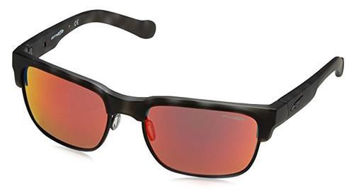 Arnette Designer Reading Glasses Dean AN4205-23326Q in Matte-Black Havana & Red Mirror