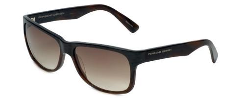 Porsche Designer Sunglasses P8546-B in Brown-Striped with Brown-Gradient Lens