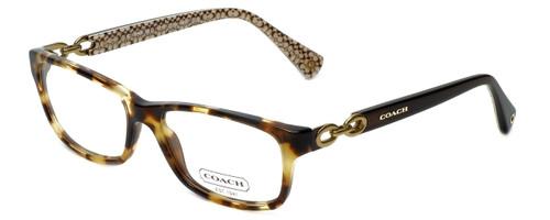 Coach Designer Eyeglasses Fannie HC6052-5238 in Tortoise 52mm :: Rx Single Vision