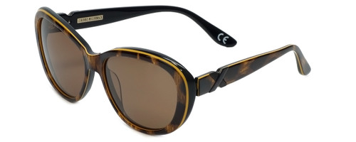 Corinne McCormack Designer Sunglasses Long Beach in Leopard 56mm