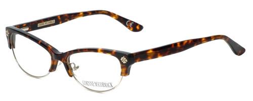 Corinne McCormack Designer Eyeglasses Monroe in Tortoise 53mm :: Custom Left & Right Lens