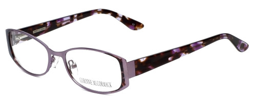 Corinne McCormack Designer Eyeglasses Murray Hill in Lilac 52mm :: Custom Left & Right Lens