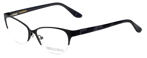 Corinne McCormack Designer Eyeglasses Gramercy in Black 52mm :: Rx Single Vision