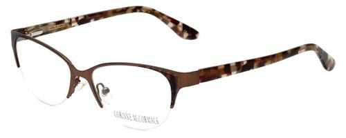 Corinne McCormack Designer Eyeglasses Gramercy in Brown 52mm :: Rx Single Vision