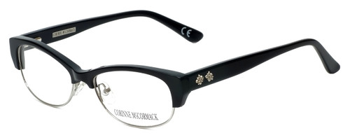 Corinne McCormack Designer Reading Glasses Delancey in Black 53mm