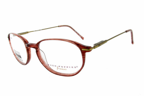 Hush Puppies Eyeglass Collection 320 in Rose :: Custom Left & Right Lens