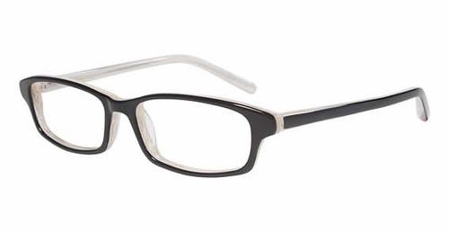 Jones NY Designer Eyeglasses J739 in Black Horn :: Custom Left & Right Lens