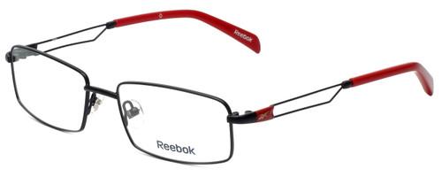 Reebok Designer Eyeglasses R2021-BLK in Black 54mm :: Rx Bi-Focal