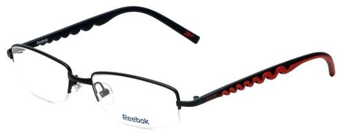 Reebok Designer Reading Glasses R1001-BLK in Black 52mm