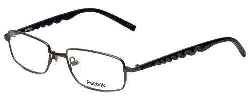 Reebok Designer Reading Glasses R1002-GUN in Matte-Gunmetal 51mm