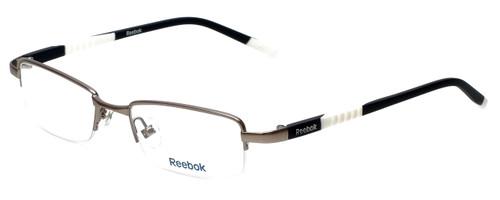 Reebok Designer Reading Glasses R1003-GUN in Satin-Gunmetal 50mm
