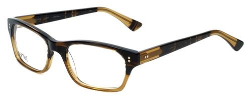Reptile Designer Eyeglasses Lacerta in Striped-Blonde 53mm :: Rx Single Vision