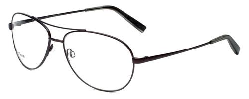 Reptile Designer Eyeglasses Madagascar in Matte-Brown 59mm :: Rx Single Vision