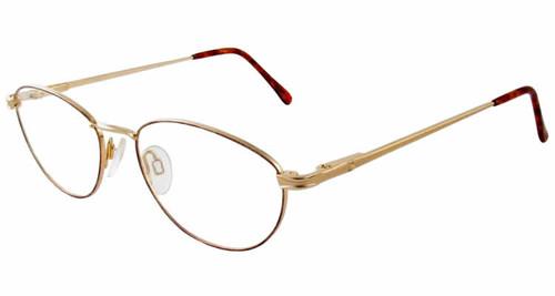 Marcolin Designer Eyeglasses 2038 in Gold :: Custom Left & Right Lens