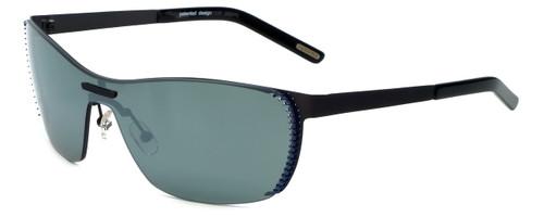 Renoma Designer Sunglasses Remus 0520 in Black with Flash Mirror Lens