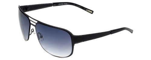 Renoma Designer Sunglasses Ryan 0000 in Black with Grey Gradient Lens