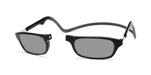 Clic Compact Sunreaders in Black Frame with Black Headband