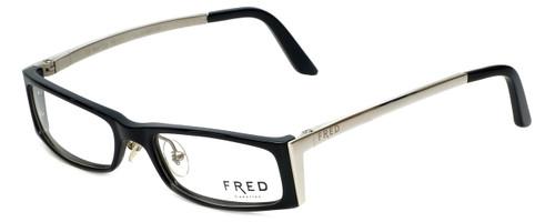 Fred Lunettes Designer Reading Glasses St. Moritz C3-003 in Black 50mm