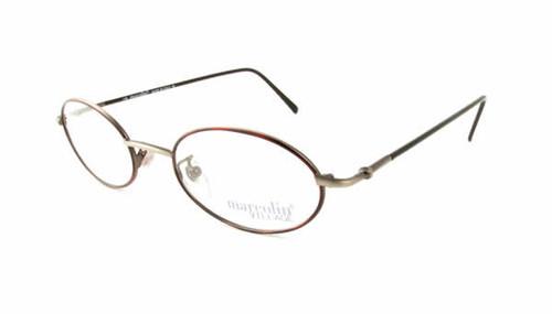 Marcolin Designer Eyeglasses 6454 in Pewter 46 mm :: Custom Left & Right Lens