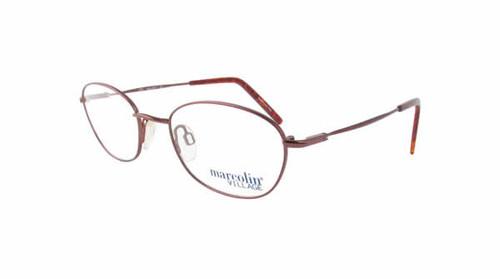 Marcolin Designer Eyeglasses 6716 47 mm in Copper :: Custom Left & Right Lens