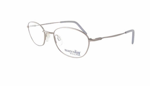Marcolin Designer Eyeglasses 6716 49  mm in Silver :: Custom Left & Right Lens