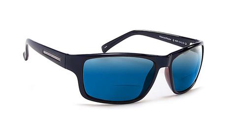 Coyote BP-13 Polarized Bi-focal Reading Sunglasses in Black