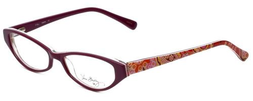 Vera Bradley Designer Eyeglasses Isabella-RFZ in Raspberry-Fizz 51mm :: Custom Left & Right Lens