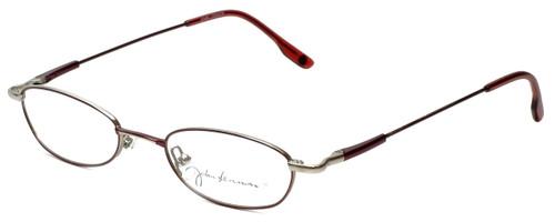 John Lennon Designer Eyeglasses JL254F-072 in Wine-Pewter 48mm :: Custom Left & Right Lens