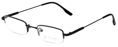 John Lennon Designer Eyeglasses JLC104-Matte-Black in Matte-Black 45mm :: Custom Left & Right Lens