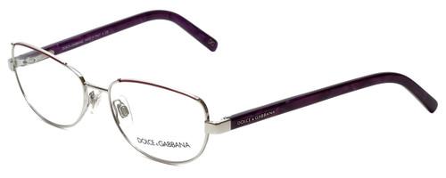 Dolce & Gabbana Designer Eyeglasses DG1181-279 in Silver  53mm :: Custom Left & Right Lens