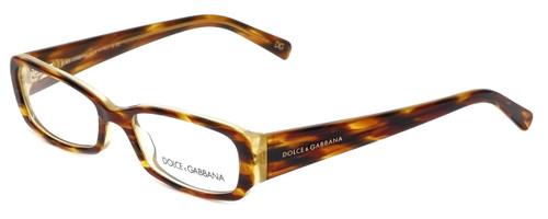 Dolce & Gabbana Designer Eyeglasses DG3085-928 in Havana-Yellow 51mm :: Custom Left & Right Lens