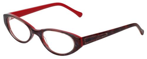 Judith Leiber Designer Eyeglasses JL3013-06 in Ruby 50mm :: Custom Left & Right Lens
